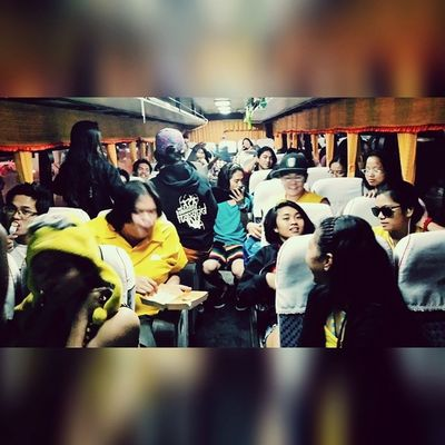 En route to Zambales with AngNawalangKapatid cast. ProjectNegra here we go!