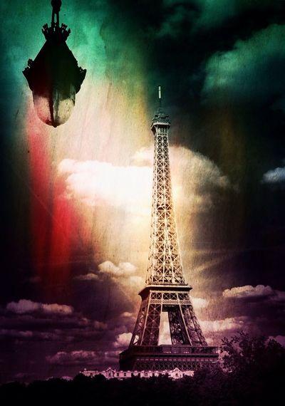 Eiffel Tower Shootermag AMPt_community NEM Painterly