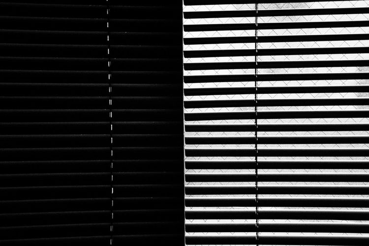 Light And Shadow Morning Light Balck&White Pattern Backgrounds Full Frame No People Security Blinds Striped Repetition Indoors  Architecture Day Protection Metal Built Structure Close-up Window Safety Textured  Sunlight Wall - Building Feature Morning Shdow Photography