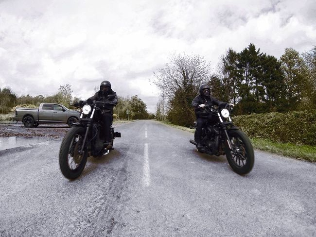Need For Speed You guys, ready ? Go ! Lille France Countryside Motorcycle Gopro HERO Harley Davidson Sport Sports Photography Vscocam