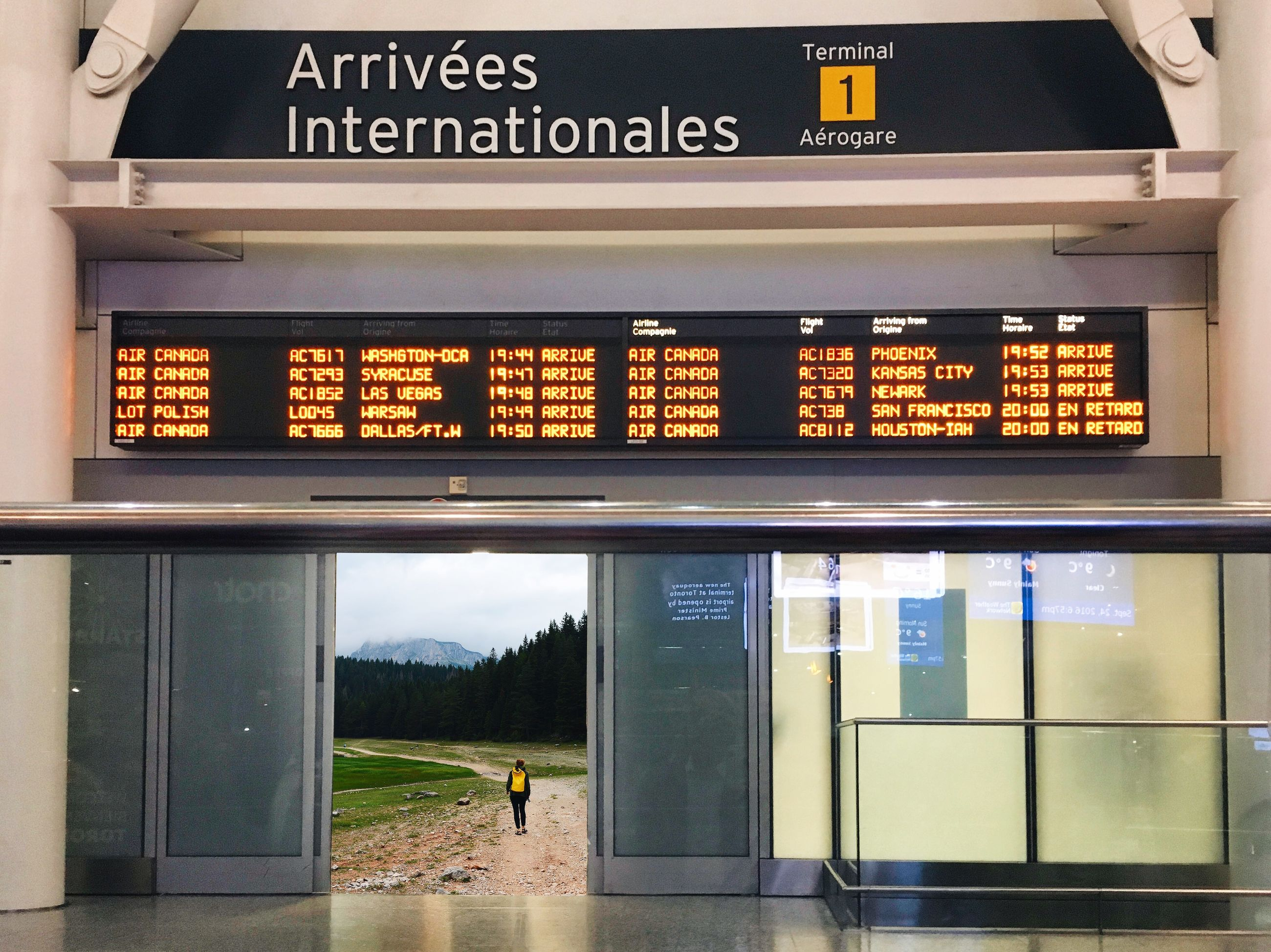 text, communication, transportation, airport, arrival departure board, indoors, only men, day, people