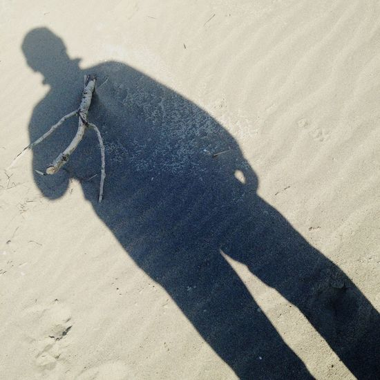 Self-portrait Telling Stories Differently IPhoneography Outdoors In A Sea Town Sand Sunny Day Beach