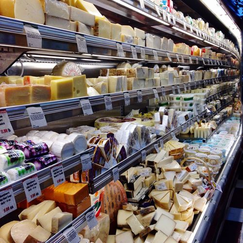 Food Porn Awards Cheese Grocery Market Cheese Aisle