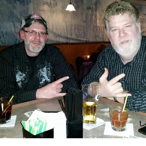 Gangsters… .. me & Bigdaddy @Parnell's Instakool Imbackinthenewyorkgroove Partylikearockstar