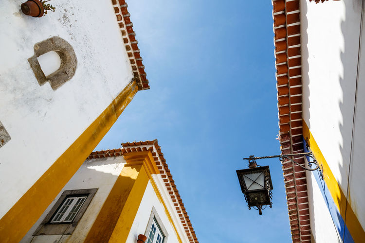Architecture Building Exterior Built Structure Day Low Angle View No People Outdoors Sky The Great Outdoors - 2017 EyeEm Awards Óbidos