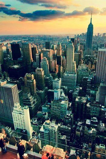 New York view Hello World