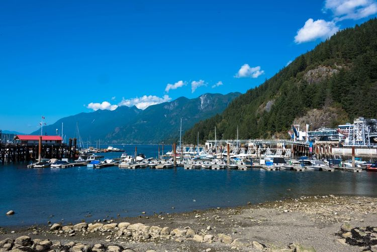 Harbor Vancouver Beach Beatiful Nature Beauty In Nature Canada Canada Coast To Coast Cloud - Sky Day Harbor Marina Mode Of Transportation Mountain Mountain Range Nature Nautical Vessel No People Outdoors Sailboat Scenics - Nature Sea Sky Transportation Water Yacht