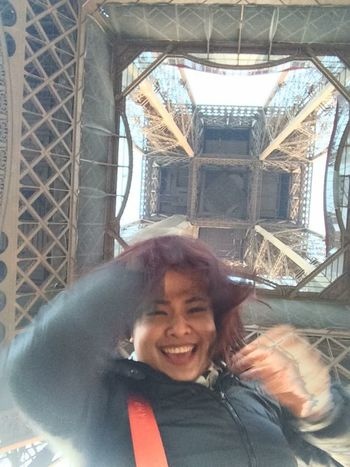 Effiel Tower Paris Again Nuple That's Me Hello World Enjoying Life