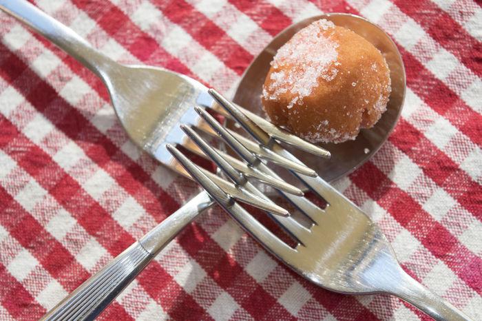 castagnole or struffoli of Carnival Carnival Strufoli Ball Castagnole Dessert Food Food And Drink Still Life Sugar Sweet Tablecloth