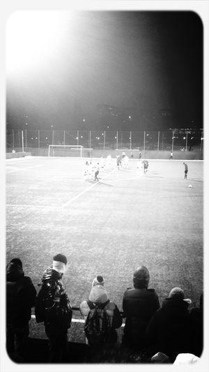 Football Fans AIK Love Wintertime