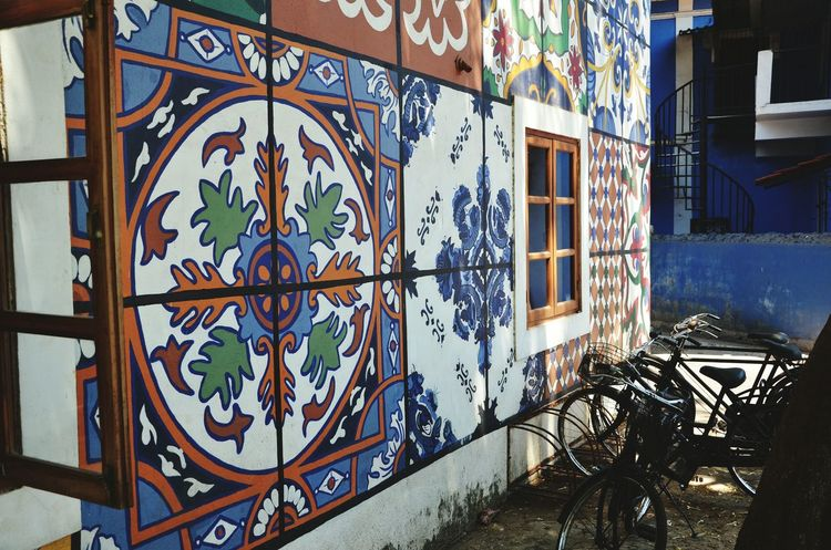 No People Outdoors Day Architecture Portuguese Architecture Goadiaries Streetphotography Panjim