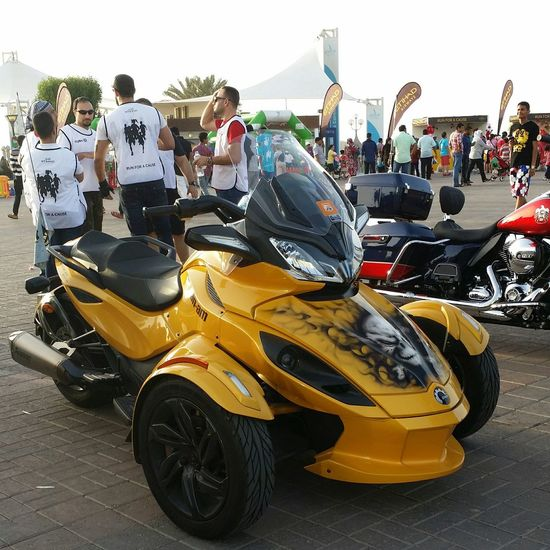 Uae,abudhabi Motorbikes Show at the side of Etihadairways 3rd Annual Charity Event Run For A Cause Outdoor Photography