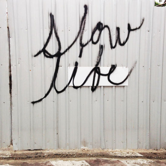 Graffiti Grafiti Metal Outdoors Rusty Slow Life Text Wall