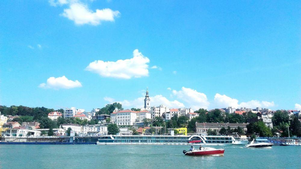 River Sava River Dunav Water Boat Boats⛵️ Boats Ships⚓️⛵️🚢 SerbiaBelgrade Belgrade,Serbia Usce Sabornacrkva Sky Cloud - Sky Day City Like4like Likeforlike Enjoying Life Reflection Cloud Blue Sky My City Sky And Clouds