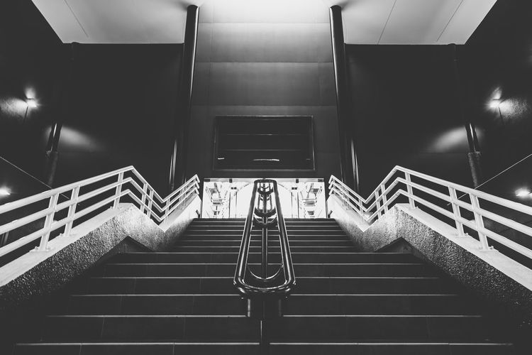 Steps And Staircases Staircase Steps Indoors  Architecture Indoors  Stairway Blackandwhite Photography The Architect - 2017 EyeEm Awards