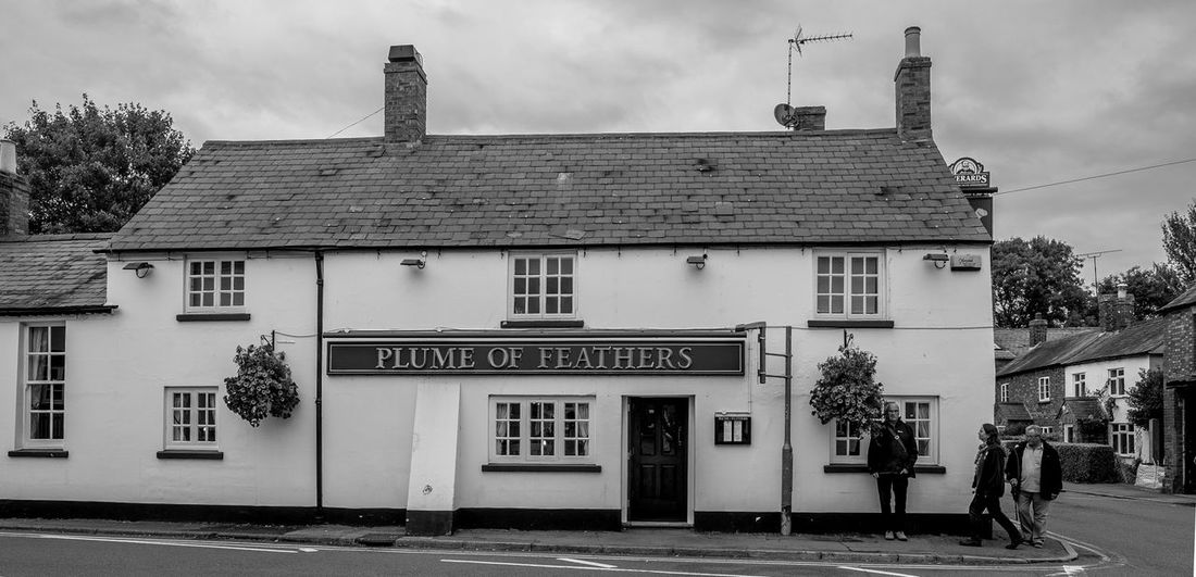 The Plume of Feathers, Weedon Bec, Northamptonshire Architecture Fujfilmxt10 Monochrome Northamptonshire Weedon Black And White Monochrome Photography Architecture Northampton Pubs Pubs