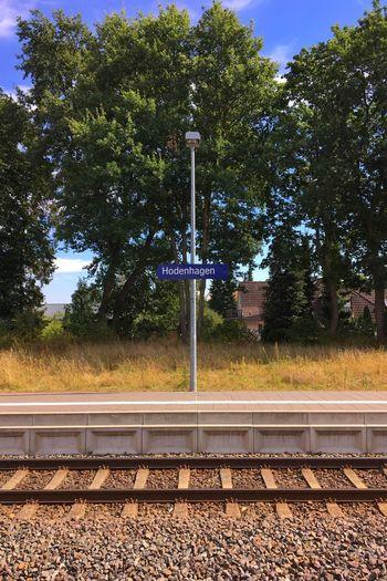 …now; train ride (with erixx Heidesprinter) to Lehrte via Hannover. #Hodenhagen #Bahnhof