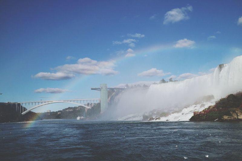 Niagara Falls Sobeautiful Amazing Scenery ForTheFirstTime Water Rainbow Happiness October 2017 🌟