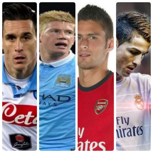 """CUP WORLD ITALY 2016 """"NAPOLI-MAN CITY-ARSINAL-REAL MADRED"""""""