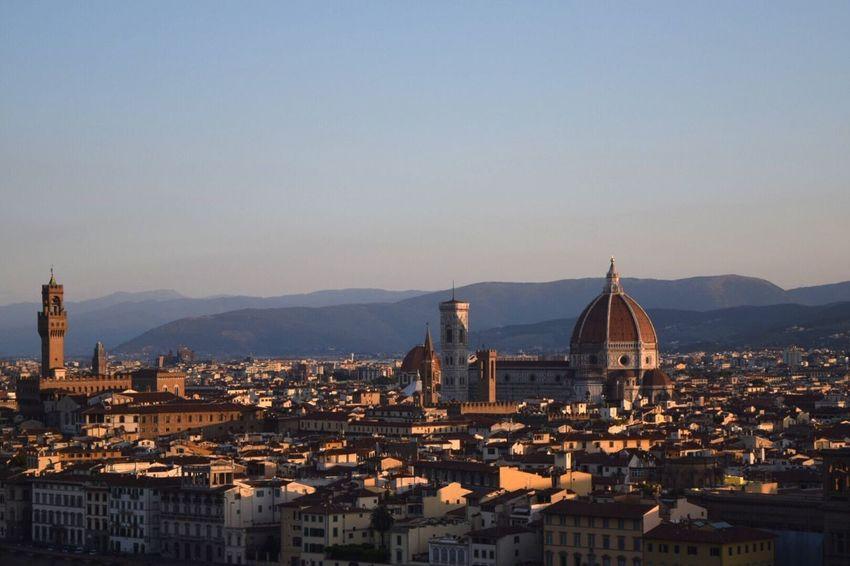 Architecture Cityscape City Firenze Florence Florence Italy Duomo Di Firenze Dome Sunrise Landscape Флоренция Дуомо Santa Maria Del Fiore пейзаж восход EyeEmNewHere