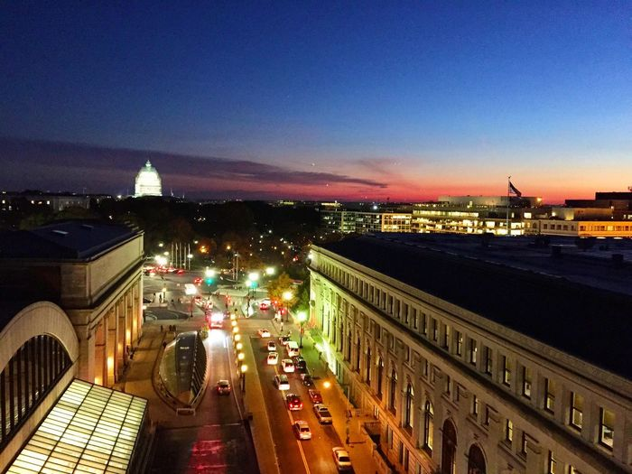 Washington, D. C. Sunset