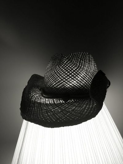 My hat Check This Out Taking Photos Relaxing Blackandwhite Black And White Blackandwhite Photography Still Life Still Life Photography Artistic Artistic Photo Artistic Photography Hats Lamp Lighting Light And Shadow Android AndroidPhotography Androidography Simple Simplicity