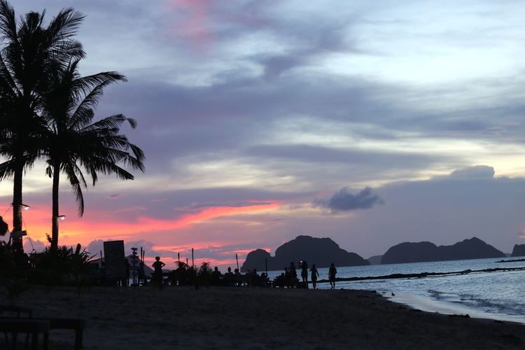 sunset Cloud - Sky Beach Travel Destinations Nature
