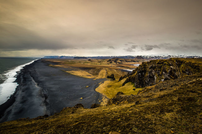 Iceland Astronomy Beauty In Nature Cloud - Sky Dramatic Sky Landscape Mountain Nature Night No People Outdoors Power In Nature Scenics Sea Sky Tranquil Scene Water