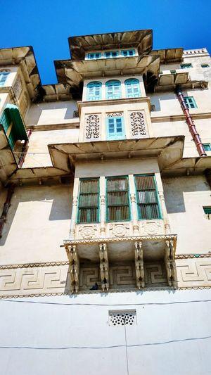 Old Buildings Architecture @ Kakroli Temple Rajasthan near Nathdwara Jai Shree Krishna