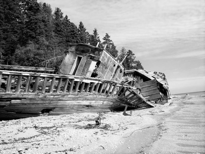 Outdoors Day No People Sky Nature Anticosti Islands Scenics Sand Beach Shipwreck Shipwreck Beach Beauty In Nature