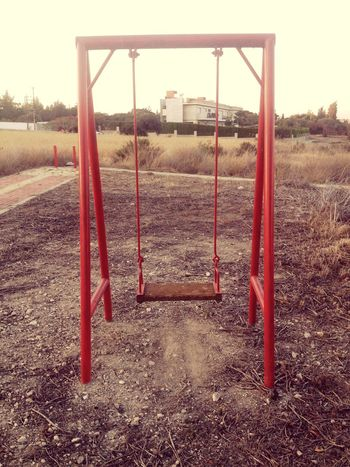 Nobody to swing.... Relaxing
