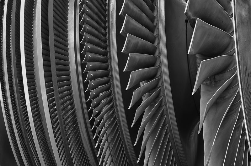 Turbine of a nuclear power station