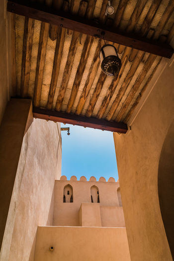 nizwa Architecture Building Exterior Built Structure Day Indoors  Low Angle View Nizwa Fort Oman Roof Travel Travel Destinations Travel Photography