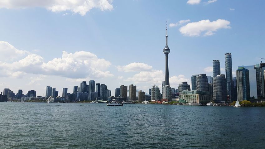 Toronto skyline Water Ferry Views Toronto Islands Toronto Skyline Lake Ontario Lake View Lake The Architect - 2016 EyeEm Awards The Street Photography - 2016 EyeEm Awards The Great Outdoors - 2016 EyeEm Awards Sail Boat Ship The Essence Of Summer Neighborhood Map