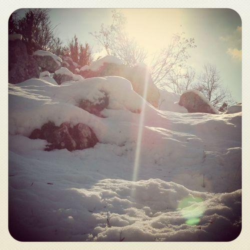 Hot snow Snow
