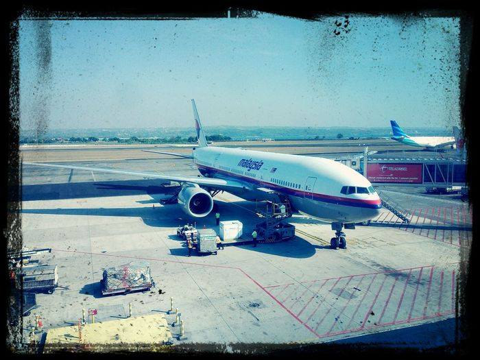 Malaysia Airlines, ready to fly Instaplane #aircraft #cabincrew #airport First Eyeem Photo