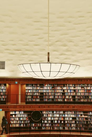 Book Library Architecture Built Structure Building Exterior City Communication Building Sky Day Railing Wall - Building Feature