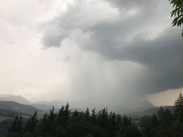 Tormenta Lluvia Cloud - Sky Beauty In Nature Scenics - Nature Mountain