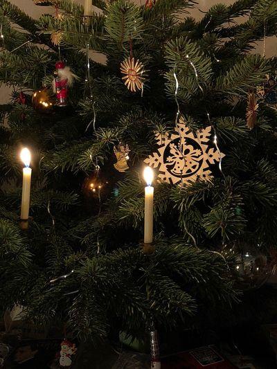 Christmas Christmas Tree Christmas Decoration Illuminated Celebration Lighting Equipment Decoration Night Indoors  No People Tradition