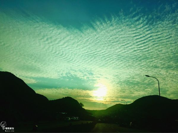 Sky 2016 天空的畫作 美景 景色 手機の拍攝遠不及眼簾看到之風景⋯⋯ 美 太陽🌞