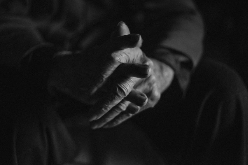The Week on EyeEm Bnw Bnw_captures Bnw_collection Bnw_friday_eyeemchallenge Body Part Close-up Focus On Foreground Hand Hand Sign Hoang Ann Human Body Part Human Finger Human Hand One Person Real People