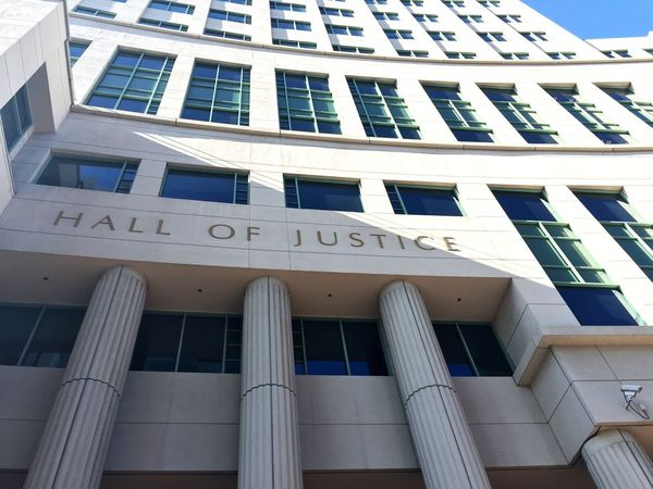 Hall of Law in San Diego Court Hall Of Law Law San Diego City Lawyer Downtown California USA