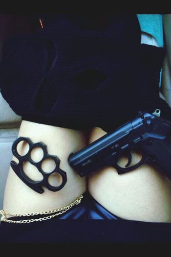 Gun Girl Swag Look Like Fashion