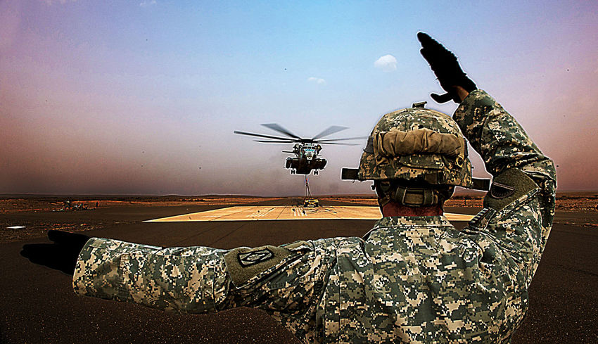 One Person Adults Only Outdoors People Nature Adult Only Men Day Drone  Marine Marines Military USMC Marine Corps CH-53 Djibouti Africa Helicopter Army Ranger Army Life Army Soldier