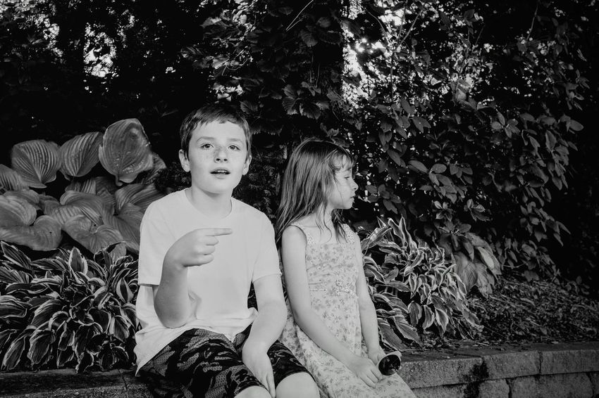 Visual Journal September 2018 Lincoln, Nebraska S.ramos September 2018 Visual Journal Photo Diary Always Making Photographs Camera Work Photo Essay Sunken Gardens Getty Images EyeEm Best Shots Formal Garden Lincoln, Nebraska Tourist Destination FUJIFILM X100S Eye For Photography Photo Walk EyeEm Masterclass Off Camera Flash Monochrome Schwarzweiß B&W Portrait Child Childhood Real People Girls Plant Three Quarter Length Leisure Activity Tree Females Nature Portrait Women Casual Clothing Looking At Camera Lifestyles Sitting Day Two People Innocence Sister Outdoors