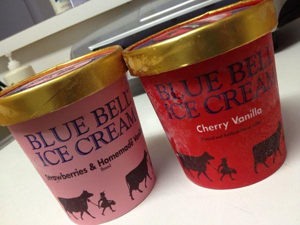 The best icecream #BlueBell