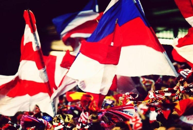 Atlético De Madrid Vicente Calderon Frente Atletico  Madrid