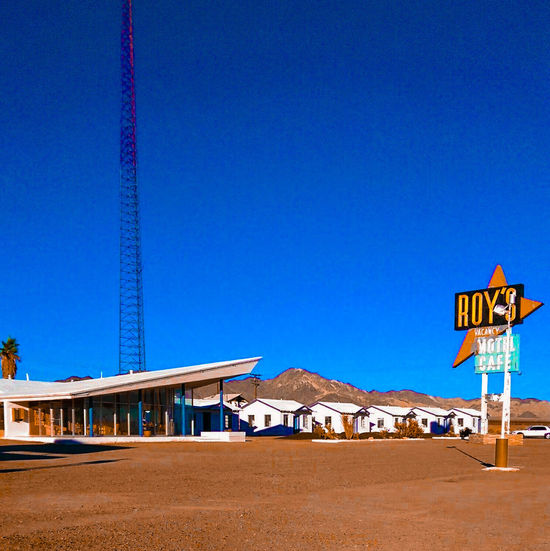 Sand Outdoors Travel Destinations No People Nature Sky Day Architecture Landscape Amboy California Route 66
