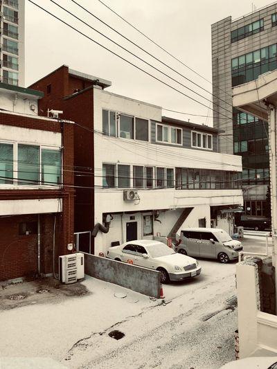 Cars City Snow