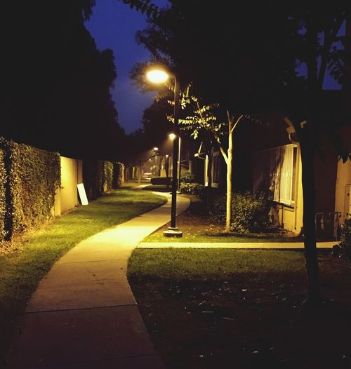 Walkway Foggy Morning Chillymorning Urbanliving Predawn United States Shadow Illuminated Footpath No People The Way Forward
